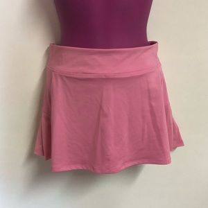 Active girl pink skort